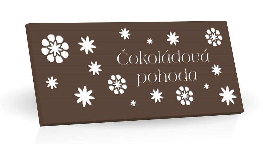 Čokoládová pohoda - Hořká čokoláda 60% 175g  (hnědá)
