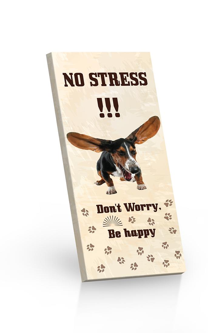 No stress!!! - čokoláda hořká 60%  100g
