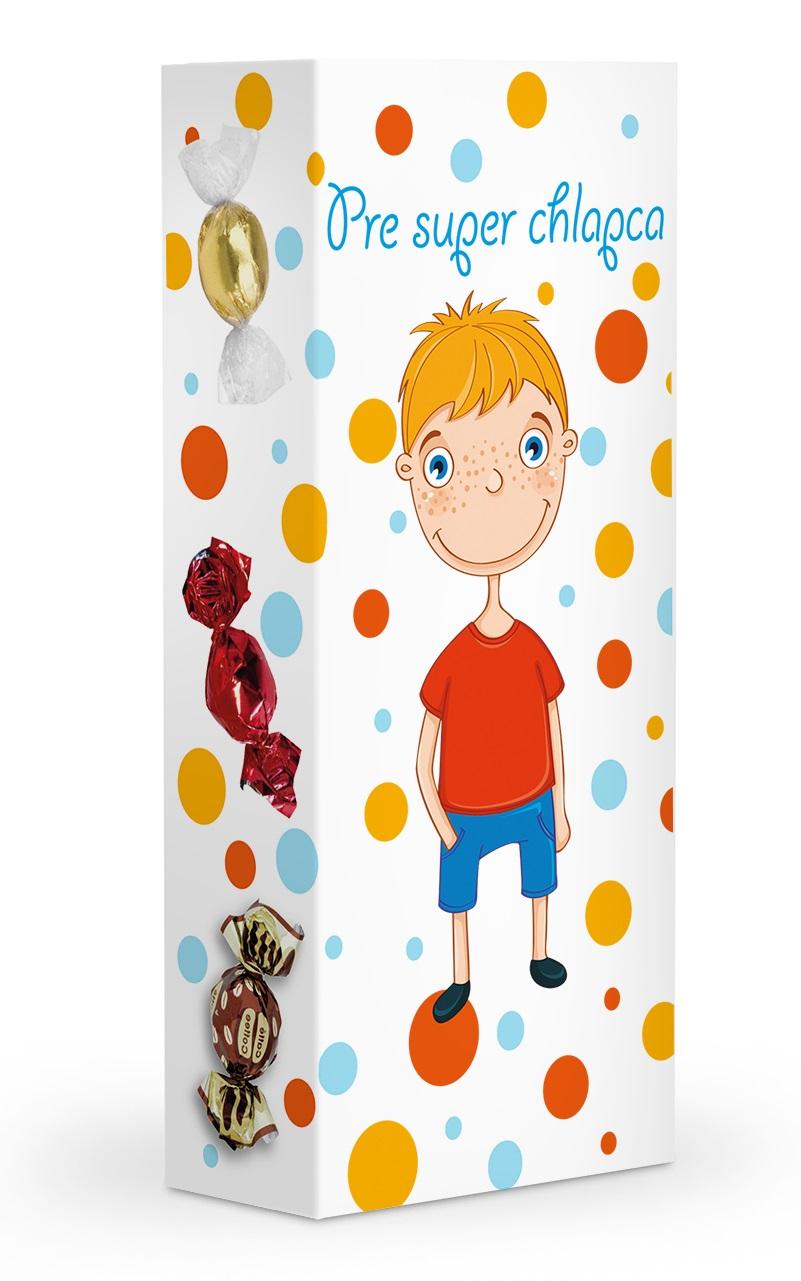 Čokoládové plněné pralinky - Pre super chlapca 84g SLOVENSKY