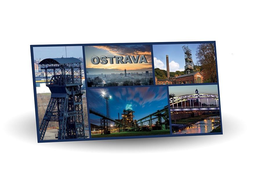 Ostrava - hořká 60% s brusinkami 175g