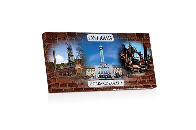Ostrava  - hořká čokoláda 60% 100g