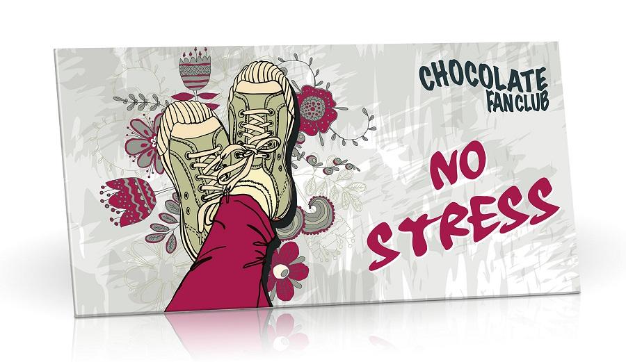 Mléčná čokoláda - No stress 100g